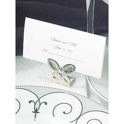 Silver Erfly Place Card Holder Wedding Gifts Favors And Accessories Release