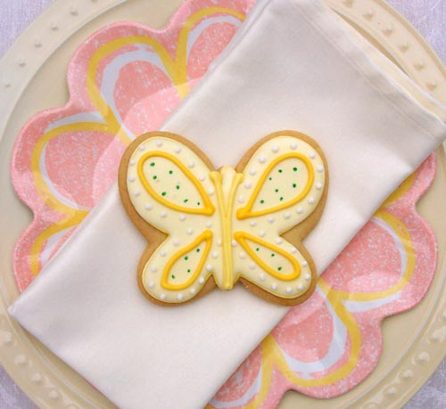 Butterfly Cookie Gifts and Favors - Butterfly Release wedding ...