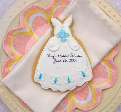Butterfly Cookie, Wedding Dress Cookies, Gifts and Favors ...