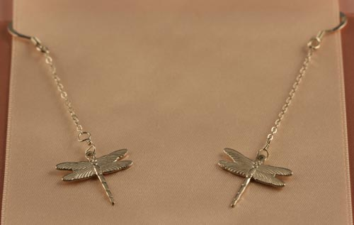 Long Dragonfly Earrings Silver Price 3995 Place Order HERE