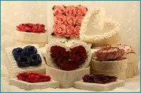 decorative floral gift boxes